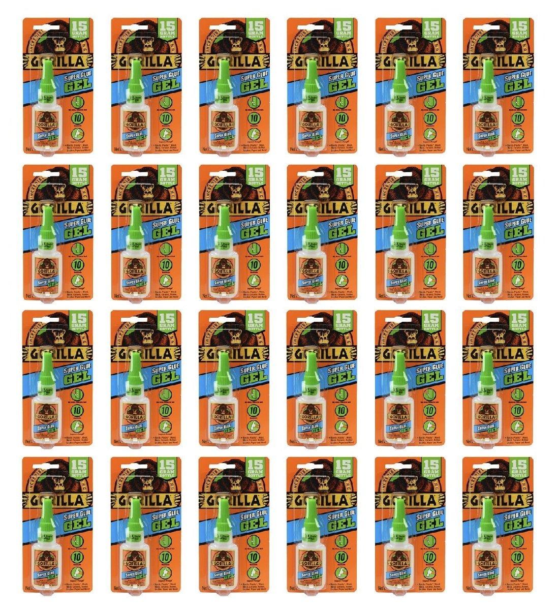 ゴリラスーパー接着剤ゲル 3 Pack 7600101-3 3 B01MCZCPFY 3 Pack|15 g 3 Pack