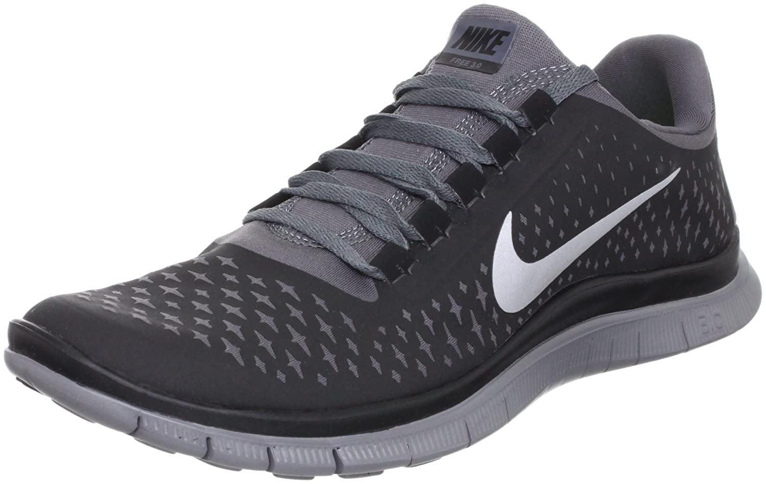 quality design 11267 3e230 Amazon.com   Nike Free 3.0 V4 Running Shoes - 12.5 - Black   Running