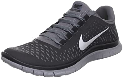 more photos 5b447 3b87b Amazon.com | Nike Free 3.0 V4 Running Shoes - 12.5 - Black ...