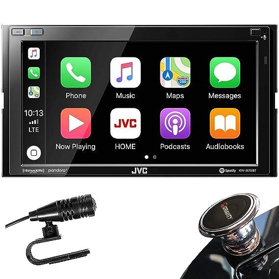 JVC KW-M75BT Digital Media Receiver with a 6 8