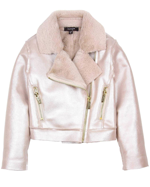 Imoga Girls Faux Shearling Jacket Esmae Sizes 6-14