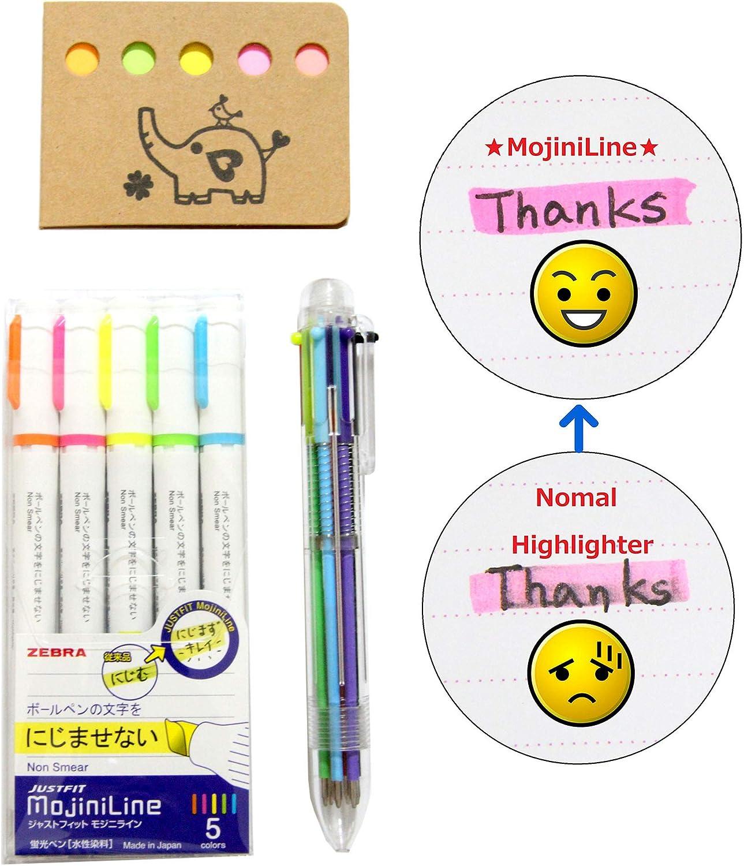 para suministros de oficina y escuela rotuladores con doble punta Rotuladores de bol/ígrafo Mildliner Highlighter Marker 12 colores