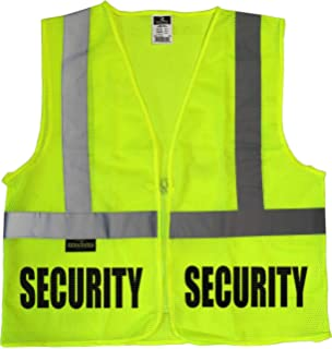 REFLECTIVE SECURITY BLACK HI VIS VEST HI VIZ WORKWEAR DOORMAN STAFF