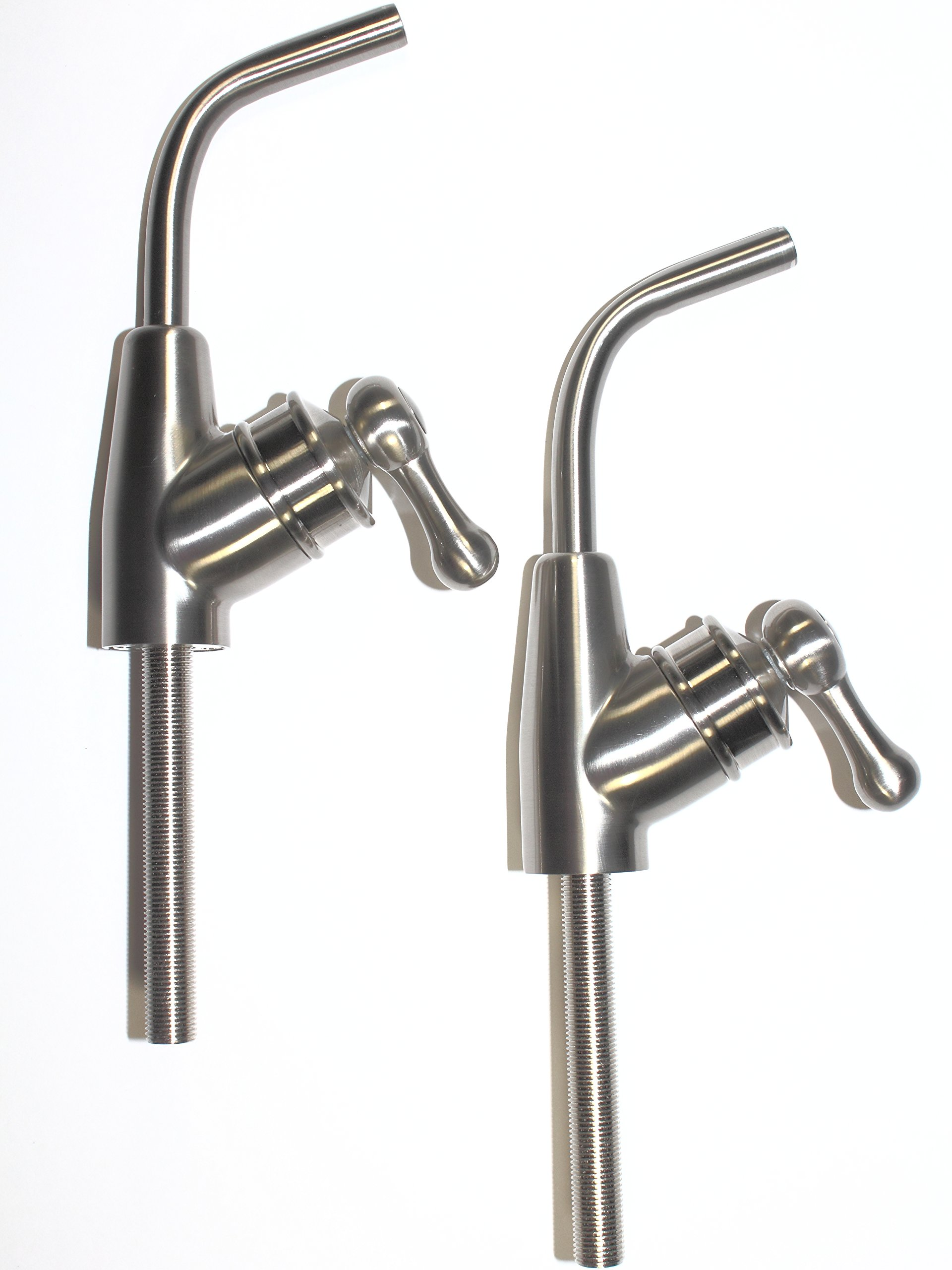 Ionizer Faucets from Todays Water Solutions offer Kangen Water Machine Owners Easy to Install Lead Free Faucet Volume Control Handle and Swivel Spout Get Rid of Your Diverter Today!
