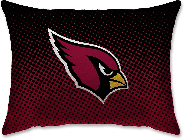 20x26 ARIZONA CARDINALS Red Pegasus Sports NFL DOT DESIGN BED PILLOW