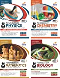 Foundation PCMB (Science + Maths) for IIT-JEE/ NEET/ Olympiad Class 8 (Set of 4 Books)