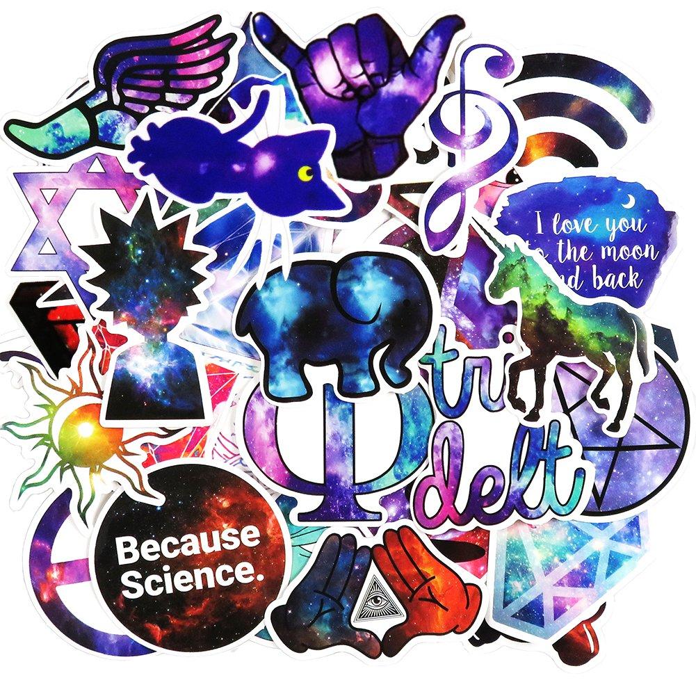 Stickers Calcos 50 un. Surtidos Origen U.S.A. (73D71TRJ)