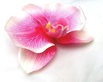Fabulous Fascinators Fuchsia Pink Orchid Large Artificial Hair Flower Clip Buttonhole Corsage iVyo2rXn2