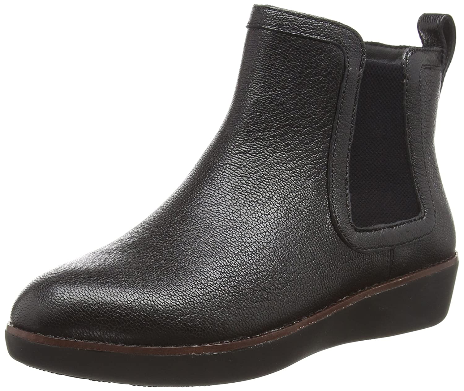 FitFlop Trade; Chai™ Leather Chelsea Boots B0792FHLQ4 8 B(M) US|Black