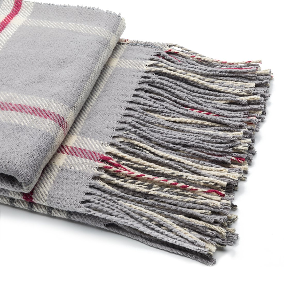 SPENCER&WHITNEY Lightweight Polyester Blanket All Season Use 100 Polyester Fiber Blanket Plush Soft Throw Blanket
