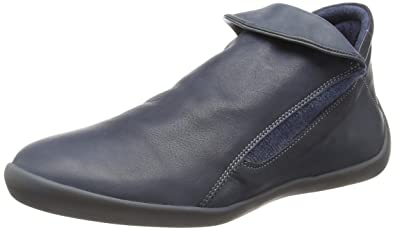 Softinos Damen Nat332sof Washed Leather Stiefeletten