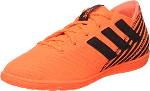 Portero Criatura Esquiar  adidas Nemeziz 17.4 In J Sala, Zapatillas de Fútbol Niñas, Multicolor  (Solar Orange/Core Black), 35.5 EU: Amazon.es: Zapatos y complementos