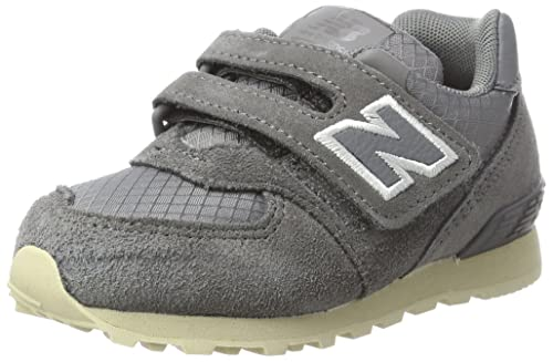 New Balance 574v1, Sneaker Unisex-Bambini, Grigio (Grey), 17 EU