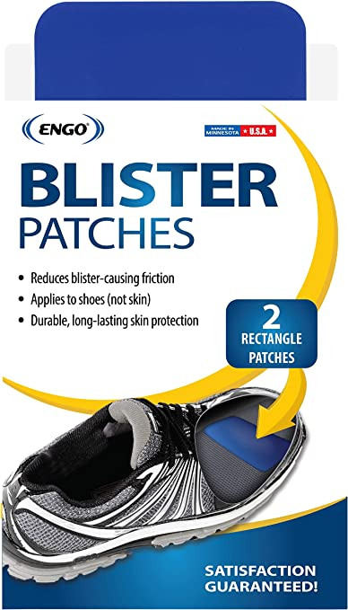 Engo Heel Blister Prevention Patches Athletes,... 2 Patches Tennis Shoes
