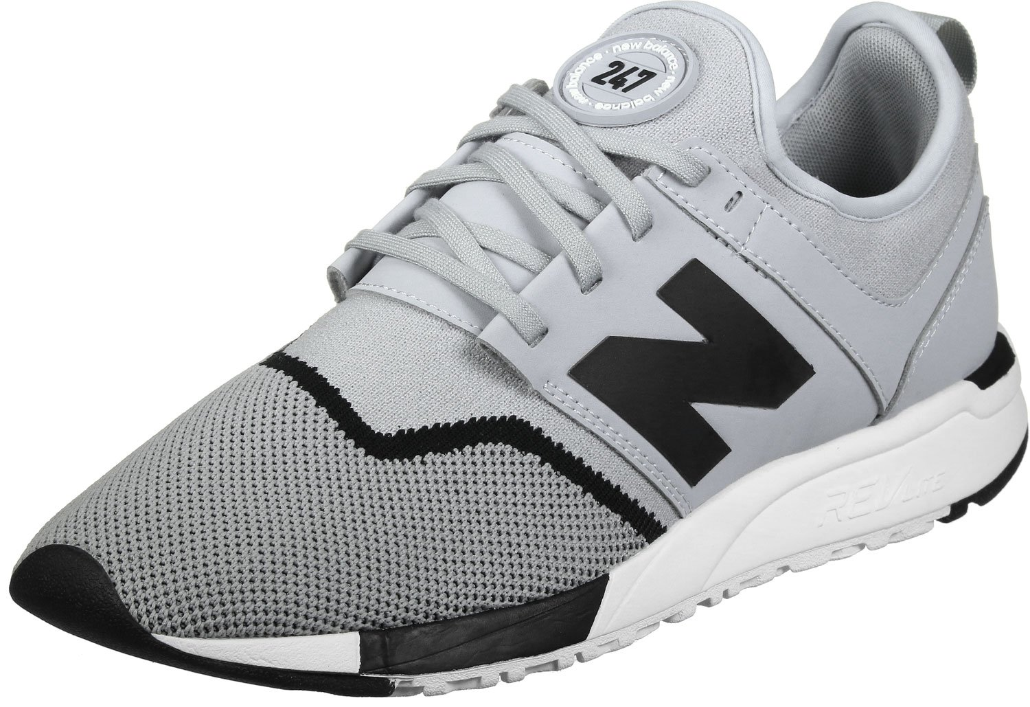 quality design 429e5 10d07 New Balance Herren 247 Classic Mesh Sneaker 40 D EU Grey Black - pemicon.de