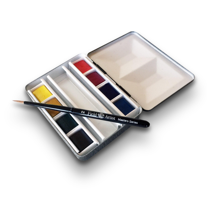 Field Artist Masters Series Ultra Compact Watercolor Bijou Box, Complete Set