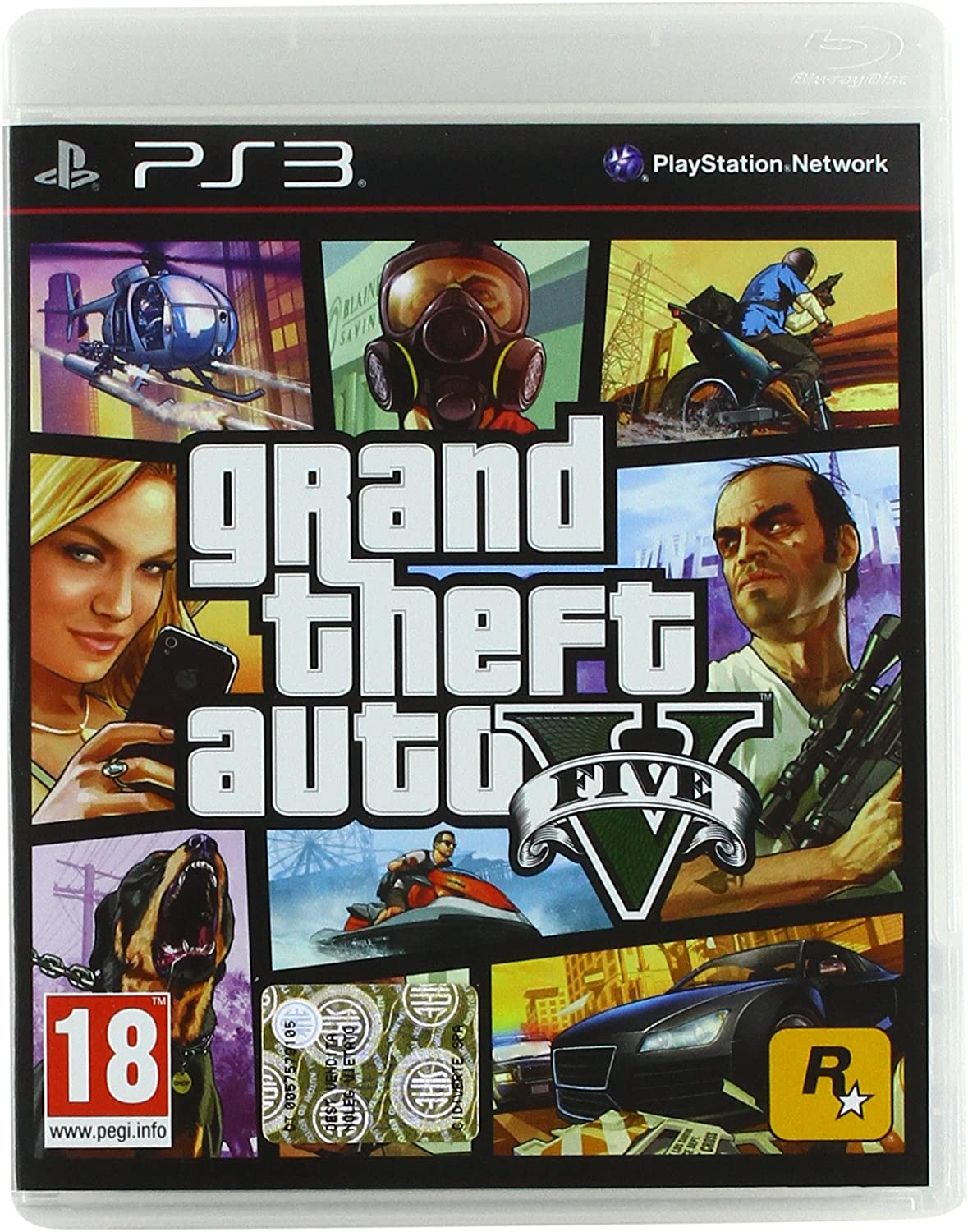 Grand Theft Auto V (GTA 5) [Importación italiana]: Amazon.es: Videojuegos