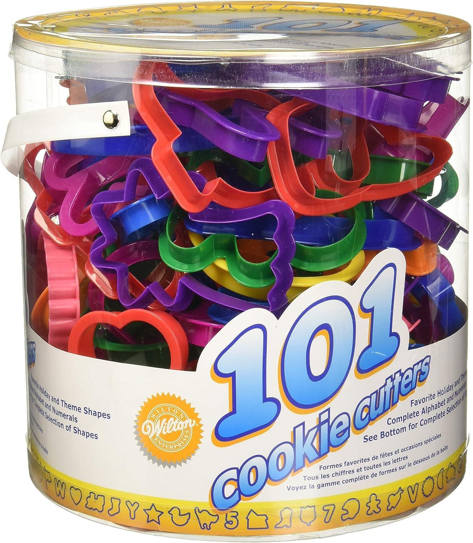 Wilton Pack de 101 cortadores de Galletas, Centimeters