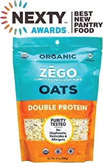 product image for ZEGO Gluten Free Organic Rolled Oats - Double Protein Old Fashioned Oatmeal (14 oz)