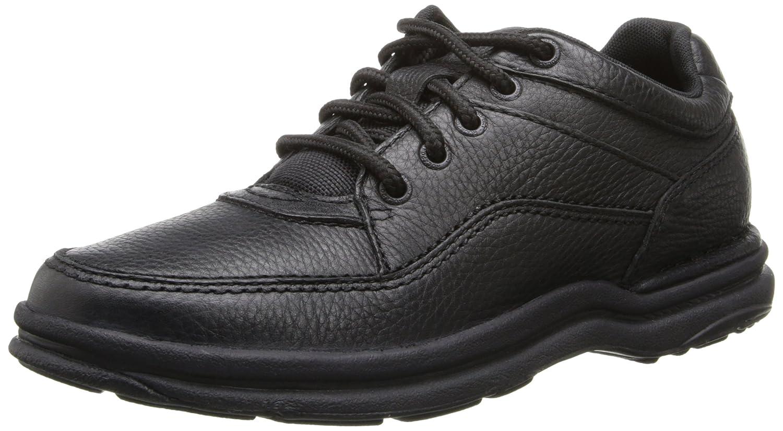 Rockport Men's World Tour Classic 15  M|Black Tumbled Leather