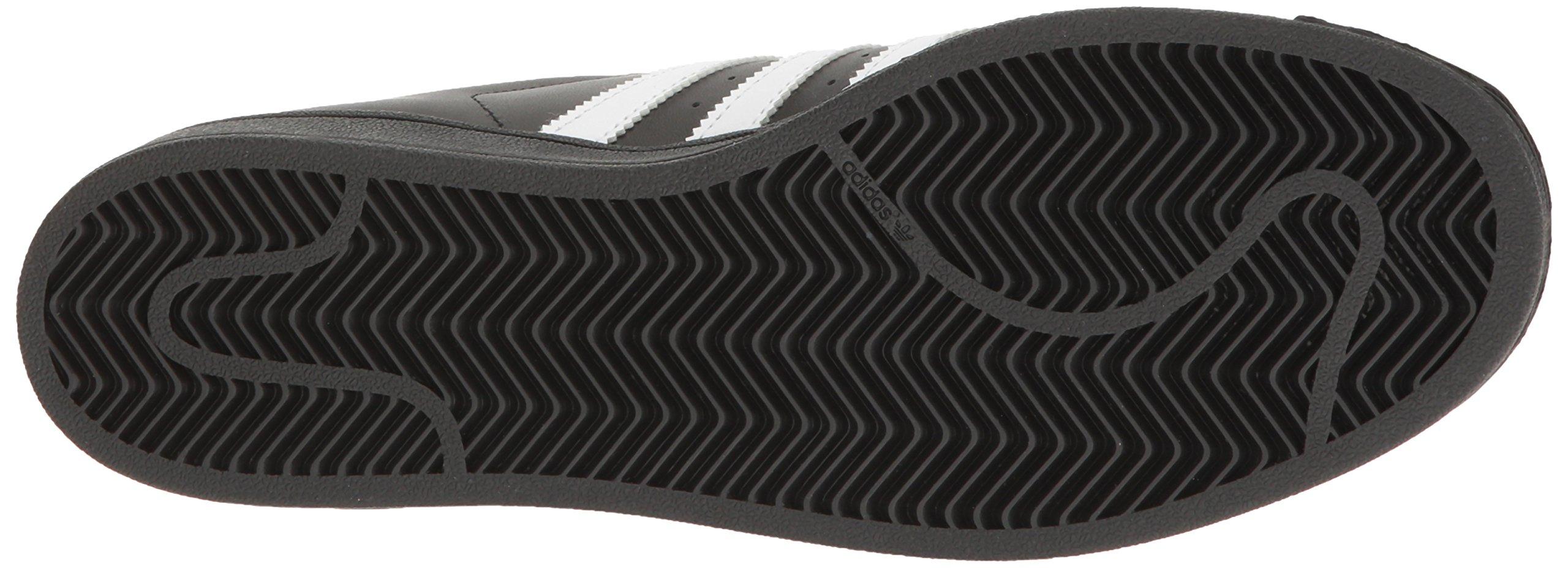adidas Originals Men's Superstar Shoe Running White/Black, 8.5 D(M) US