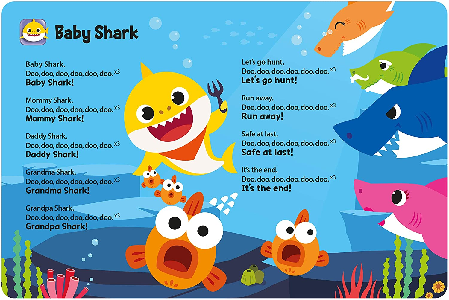 B07L8K66HT Pinkfong Baby Shark Official Sound Book 81qV-KMGTzL