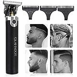 Elektrisk skäggtrimmer för män - GLAMADOR professionella skägg-hårklippare rakapparat - bärbar USB-laddningskägg…