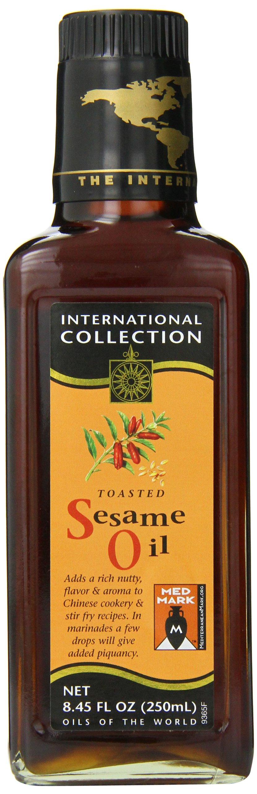 International Collection Oil, Toasted Sesame Seed, 8.45 Ounce by International Collection