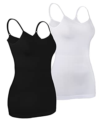 c79a54174fb466 iLoveSIA Women s Camisole Tops 2 3 4 Pack of Cami Vests  Amazon.co ...