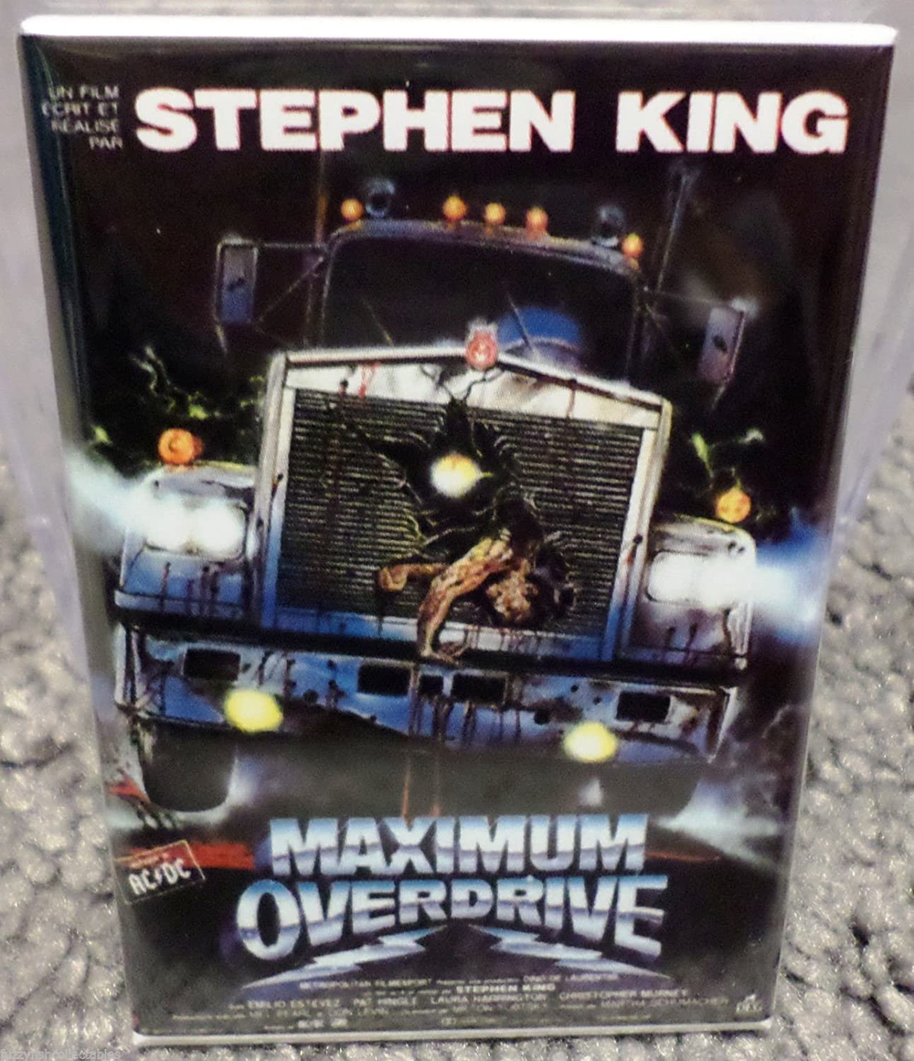 Maximum Overdrive Movie Poster 2 x 3 Refrigerator Locker MAGNET King Estevez
