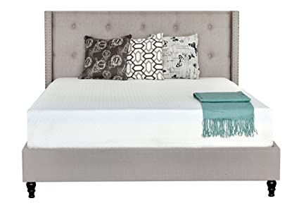 Amazoncom Irvine Home Collection 10 Inch Gel Memory Foam Mattress