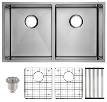 deep stainless steel kitchen sink countertop formica frigidaire undermount stainless steel kitchen sink 10mm radius corners 16 gauge deep basin