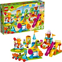 LEGO Duplo Town Big Fair 10840 Role Play and Learning Building Blocks Set for Toddlers Including a Ferris Wheel…