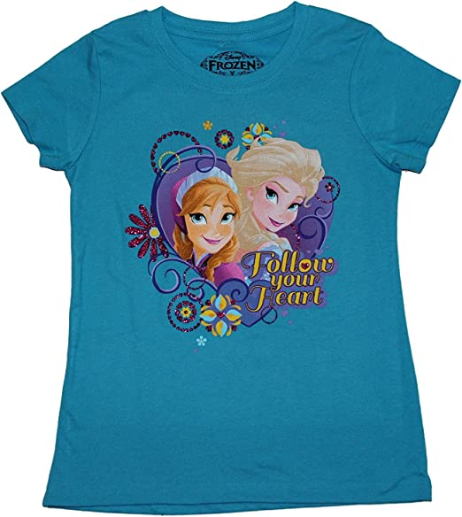 Disney Girl/'s Frozen Elsa Tee