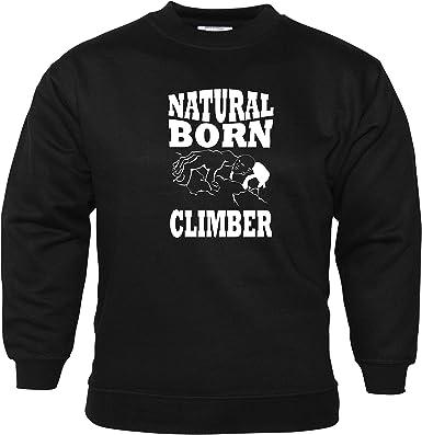 Natural Born Climber Unisex Sudadera Rock Escalada Zapatos ...