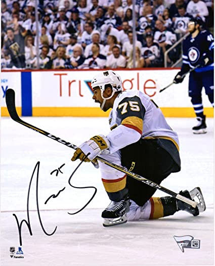 c719d025e Image Unavailable. Image not available for. Color  Ryan Reaves Vegas Golden  Knights Autographed ...