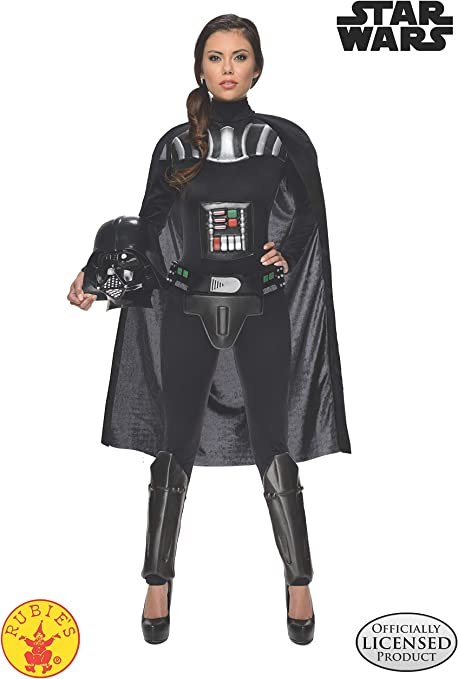 Star Wars - Disfraz de Darth Vader para mujer, Talla M adulto ...