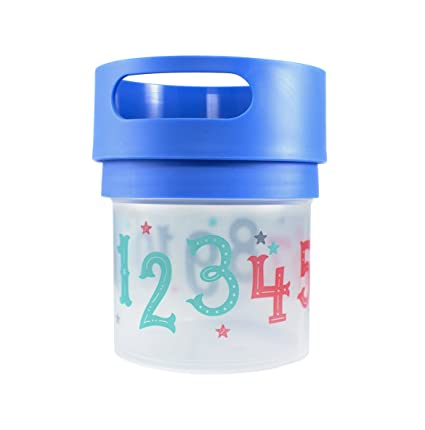 Tommee Tippee Closer To Nature First Sips Transition Cup 1 Count Blue 5 Ounce