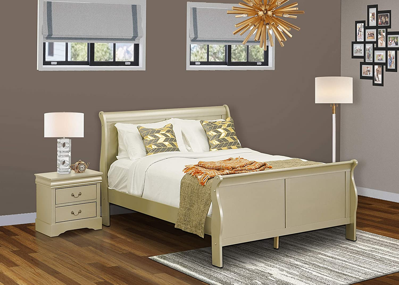 Amazon Com East West Furniture Lp04 Q1n000 Bedroom Sets Queen Kitchen Dining