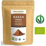 Cacao crudo Ecológico en Polvo 1kg | Organic Raw Cacao Powder | 100% Bio, Natural y Puro | Producido en Perú a partir de la planta Theobroma Cacao | Rico en antioxidantes, minerales y vitaminas.