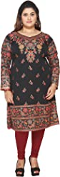 Unifiedclothes Plus Size (Upto 9XL) Women Indian Pakistani Kurti Tunic Kurta Top Shirt Dress EPlus109A
