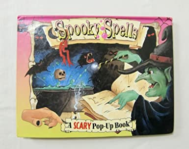 amazon spooky spells a scary pop up book 洋書飛び出す絵本