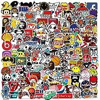 Fancico 201 stuks stickers voor waterflessen, laptops, auto's, coole stickers voor volwassenen, tieners, kinderen…
