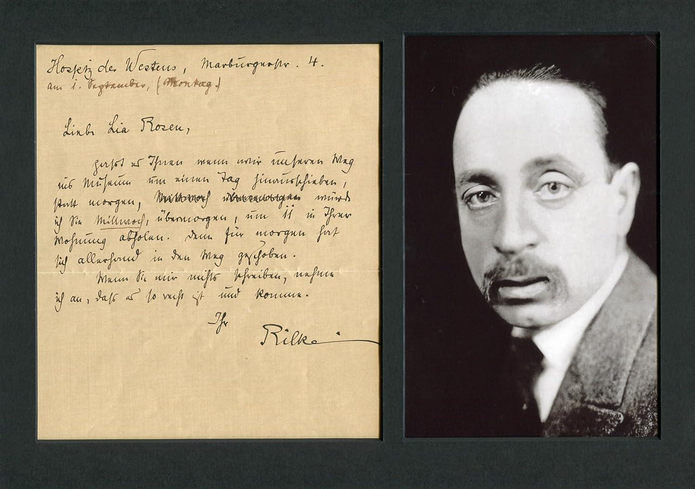 Lia Rosen Rainer Maria Rilke