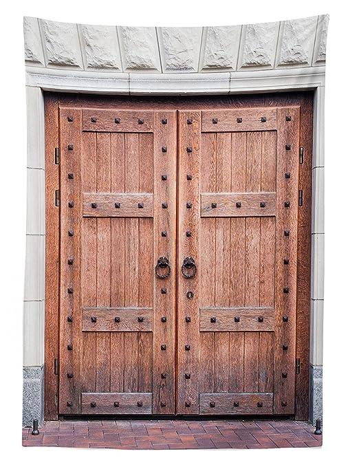Tovaglia rustico Decor antico francese in legno porta vecchio ...