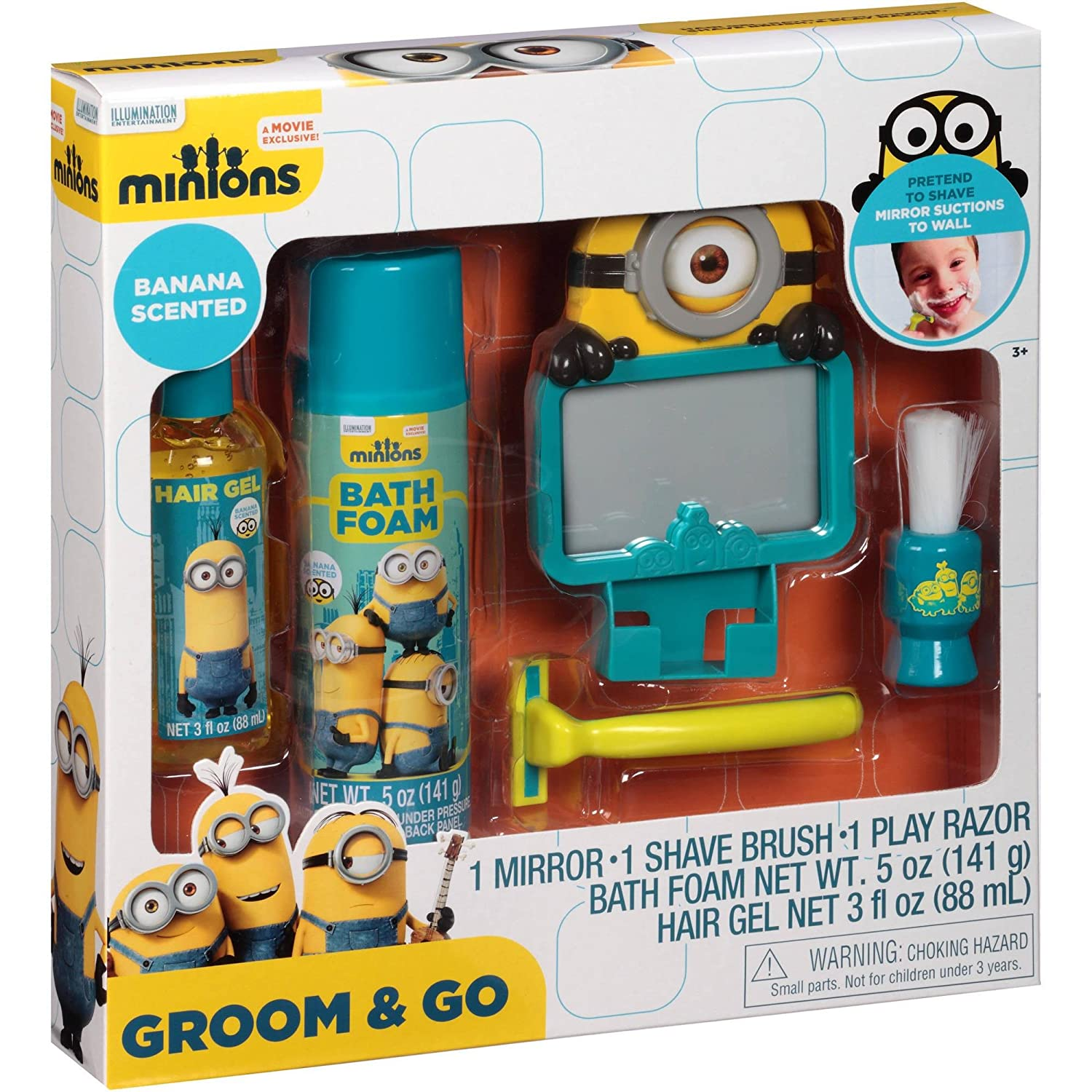 minion bathroom set. Amazon com  Despicable Me Minions Groom Go Holiday Gift Set 5 Pieces Office Products