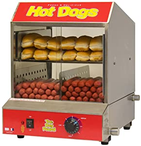 Benchmark 60048 Dogpound Hotdog Steamer, 120V, 1170W, 9.8A