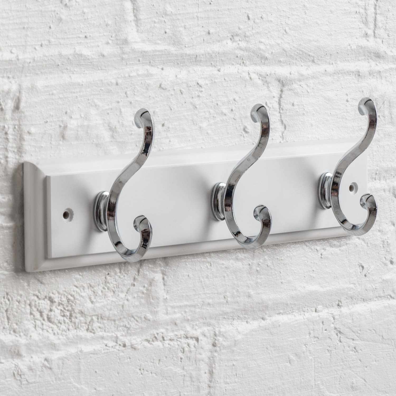 Amazon.com: Maine perchero de pared con 3 resistente ganchos ...