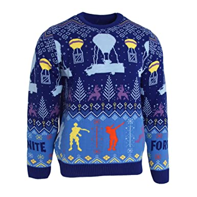 Fortnite Unisex Adults Flossing Around The Christmas Tree Knitted