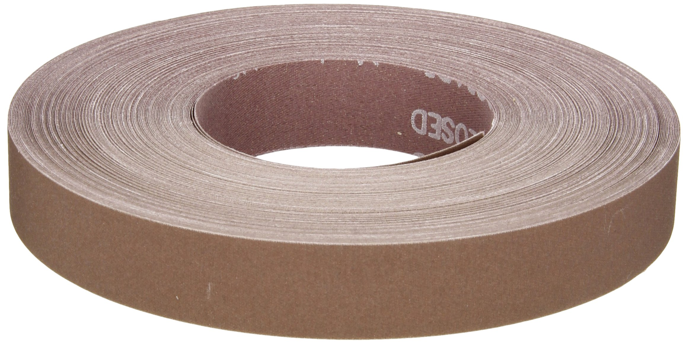 Norton K225 Metalite Abrasive Roll, Cloth Backing, Aluminum Oxide, 1'' Width x 50yd Length, Grit P400 (Pack of 5) by Norton Abrasives - St. Gobain (Image #1)